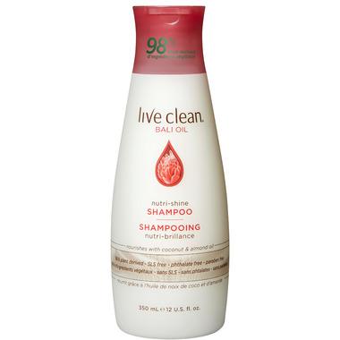 Live Clean Bali Oil Nutri-Shine Shampoo