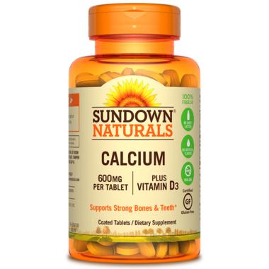 Sundown Naturals Calcium + Vitamin D3