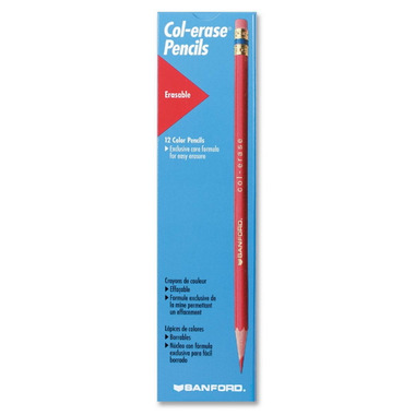 Sanford Prismacolour Col-Erase Carmine Red Pencils