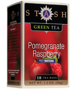 Stash Pomegranate Raspberry Green Tea with Matcha