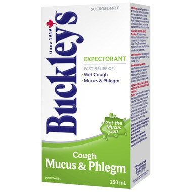 Buckley\'s Mucus & Phlegm Expectorant Cough Syrup