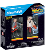 Playmobil Back To the Future Marty McFly & Dr. Emmett Brown