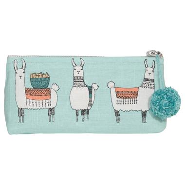Danica Studio Llamarama Pencil Cosmetic Bag