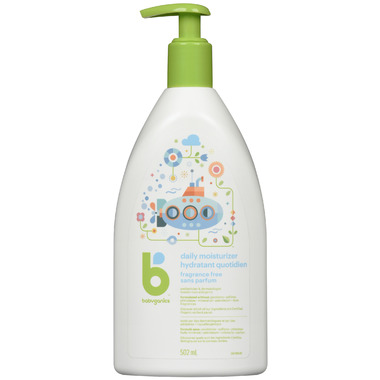 babyganics Moisturizing Daily Lotion Fragrance Free
