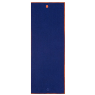 Manduka yogitoes Skidless Yoga Towel Chakra Blue