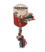 Mammoth Medium 12 Inch Cloth Rope Bone