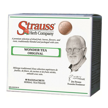 Strauss Herb Company Wonder Tea