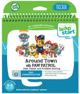 LeapFrog LeapStart Around Town with PAW Patrol Activity Book