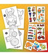 Kit PiCO Surprise Intrépide avec pages à colorier & Tatouages temporaires