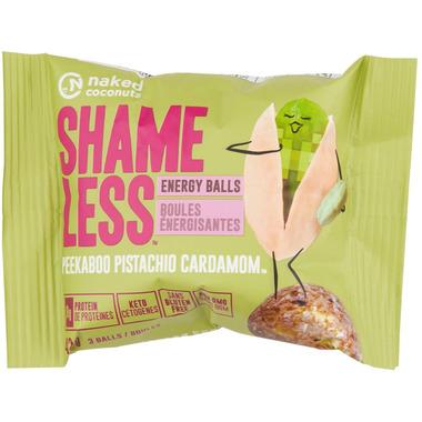 Naked Coconuts Shameless Energy Balls Peekaboo Pistachio Cardamon