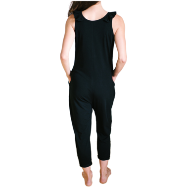 Smash + Tess The Sweetheart Romper Midnight Black