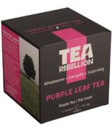 Tea Rebellion Purple Leaf Tea Purple Tea
