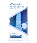 Crest Whitening Emulsions On the Go Leave-on Teeth Whitening Pen