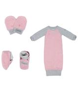 Juddlies Raglan Collection Newborn Bundle Dogwood Pink