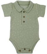L'ovedbaby Polo Bodysuit Fern dots