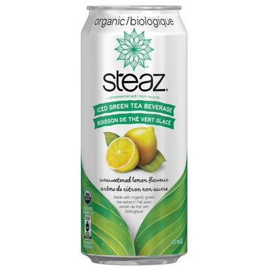 Steaz Iced Teaz Unsweetened Lemon