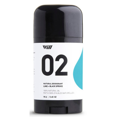 Way Of Will Stick Deodorant Lime Black Spruce