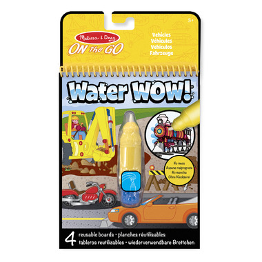 Melissa & Doug Water WOW! Vehicles On-The-Go