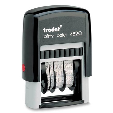 Trodat Printy Self Inking Dater Stamp