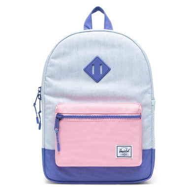Herschel Supply Heritage Youth Ballad Blue, Candy Pink & Dusted Peri