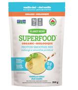 Planet Hemp Organic Smoothie Mix Vanilla Chai