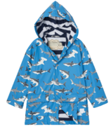 Hatley Deep-Sea Sharks Colour Changing Raincoat