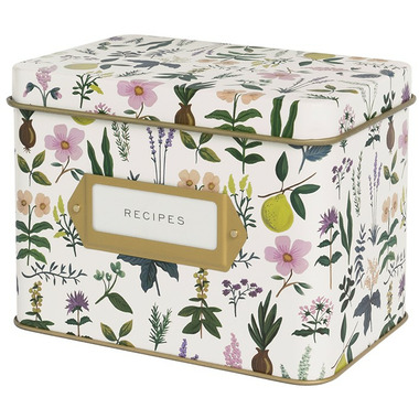 Buy Rifle Paper Co Herb Garden Tin Recipe Box From Canada At Well