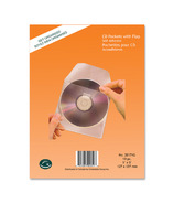 Greenside Group Poly Self Adhesive CD/DVD Pockets