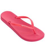 Ipanema Adult Ana Flip Flop Sandals Neon Pink