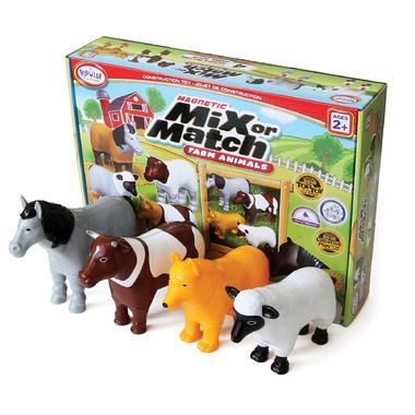 Popular Playthings Mix or Match Animals Farm