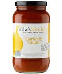Mia's kitchen Garlic & Onion Gourmet Pasta Sauce