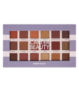 Carter Beauty Warm Velvet 18 Shade Eyeshadow Palette