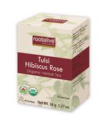 Rootalive Tulsi Hibiscus Rose Tea