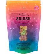 SQUISH Vegan Sour Rainbow Bears Gourmet Candy