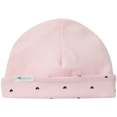Noppies Organic Cotton Reversible Hat New York Rose