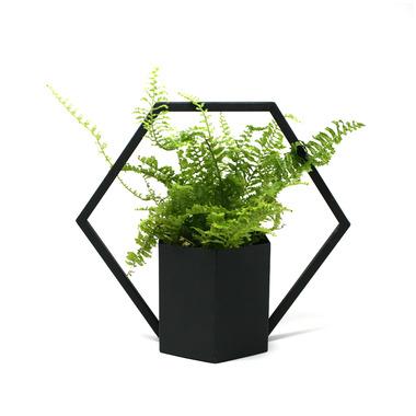 Natural Living Hanging Planter Black