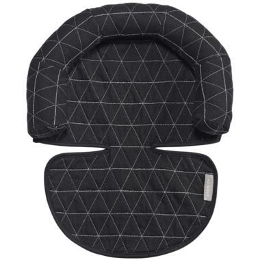 JJ Cole Black Tri-Stitch Head Support