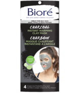 Biore Charcoal Instant Warming Clay Mask