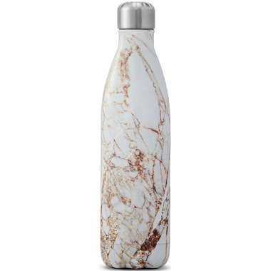 S\'well Calacatta Gold Stainless Steel Water Bottle Elements Collection