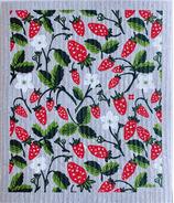 Ten and Co. Sponge Cloth Wild Strawberry