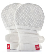 goumikids Cream Diamond Dots Mitts
