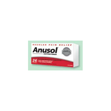 Anusol Hemorrhoidal Suppositories