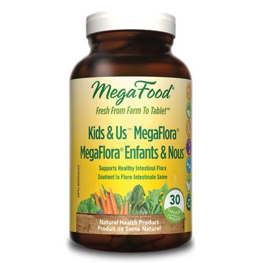 MegaFood Kid\'s N\' Us Megaflora Probiotics