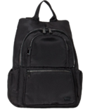 Lug Hatchback Mini Backpack Brushed Black