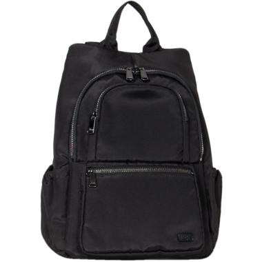 Lug Hatchback Mini Backpack Brushed Black