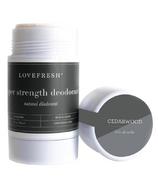 LOVEFRESH Super Strength Natural Cream Deodorant Stick
