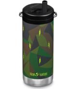 Klean Kanteen TKWide Bottle with Twist Cap Electric Camo