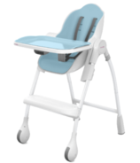Oribel Cocoon High Chair Blue Raspberry Marshmallow