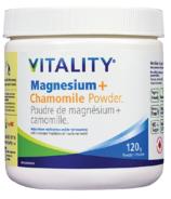 Vitality Magnesium + Chamomile Powder