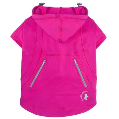 Canada Pooch Zen Hoodie in Pink Size 20